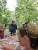 Lunch at Chateau Siaurac, France