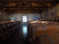 Wine cellars, Bordeaux region of France