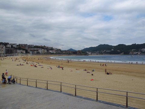 Concha Beach, San Sebastian, Spain