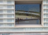 Reflections in the Kursaal funky windows