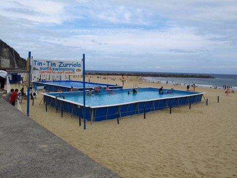 Zurriola Beach, San Sebastian