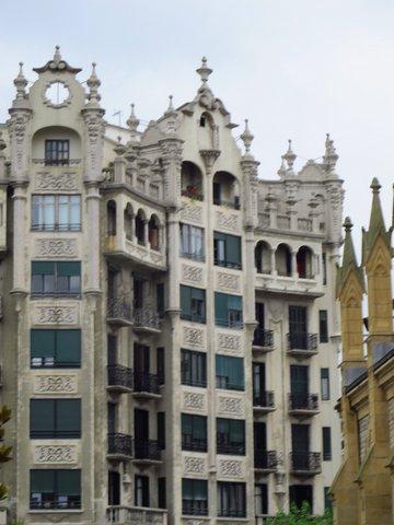 Architecture of San Sebastian Spain