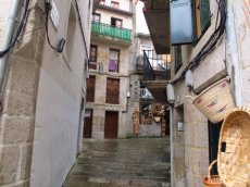 Laneways through the old part of Vigo in Spain