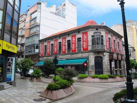 Loving this building in Vigo