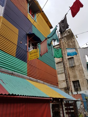 Such a lively place, La Boca