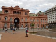 The Pink House, Buenos Aires version of our Government House