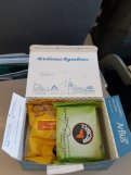 Cute lunch box on Aerolineas Argentinas