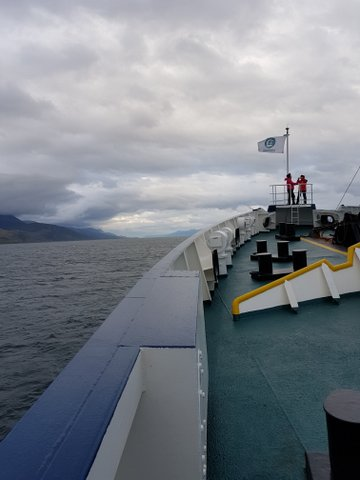 Heading towards the Beagle Channel