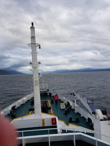 Beagle Channel ahead