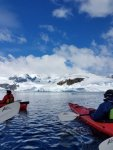 What an experience, kayaking in the Antarctic