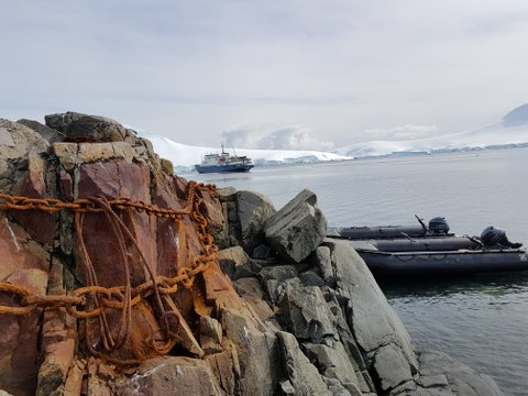 Remnants of the old days at Port Lockroy
