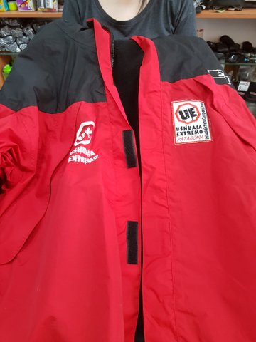Trusty jacket hired for my trip from Ushuaia Extremo