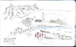 Port Lockroy sketch