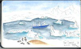 Port Charcot sketch