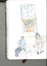 Resorting to Starbucks sketch