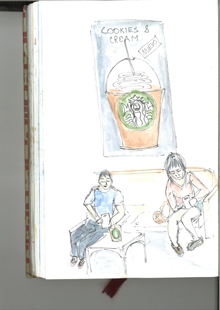 Resorting to Starbucks sketch