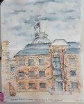 Hobart Museum sketched Jan-16