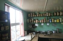 Kitchen of museum at Port Lockroy