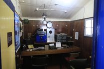 Old radio room at Port Lockroy