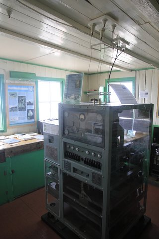 Old research machine at Port Lockroy