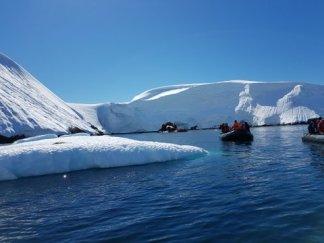 Near the Gouvernoren in Antarctica