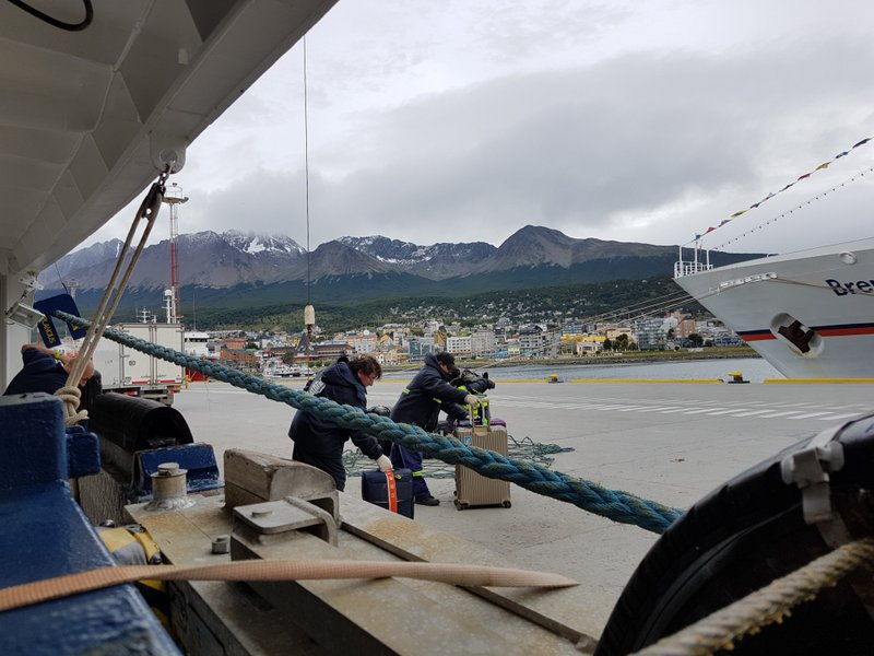Looks cold back in Ushuaia!
