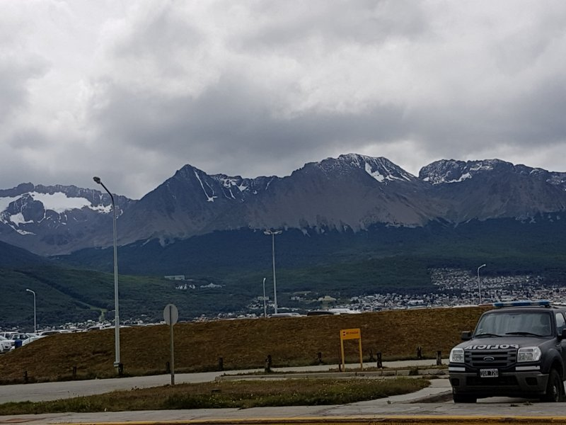 Leaving Ushuaia for Buenos Aires