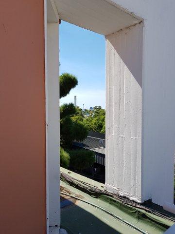 Rooftop view from Museo Nacional de Bellas Artes, BA
