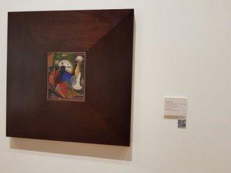 Diego Rivera painting at Museo Nacional de Bellas Artes, BA