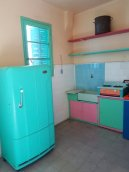Love the colours of Benito Quinquela Martin's kitchen