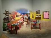 Installation about La Boca at PROA
