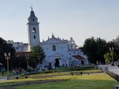 Our Lady of the Pilar church at Recoleta