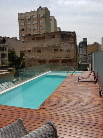 Rooftop pool Patios de San Telmo