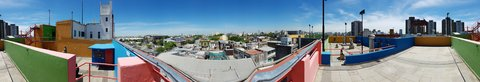 Rooftop view from Museo Benito....