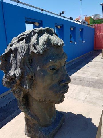 Sculpture Museo Benito Quinquela Martin
