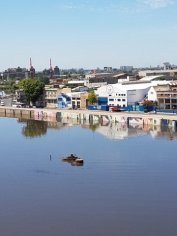 The river at La Boca
