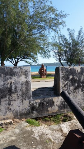 View from grounds of Baracoa Museo