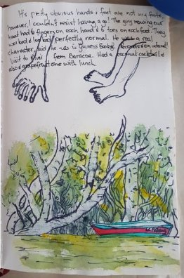 Tey River sketches, Baracoa