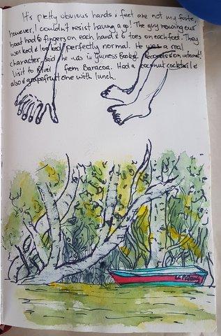 Tey River sketches, Baracoa