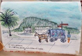 Baracoa sketch