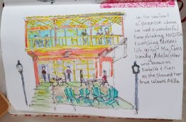 Sketched later, a few wonderful hours spent here in Baracoa