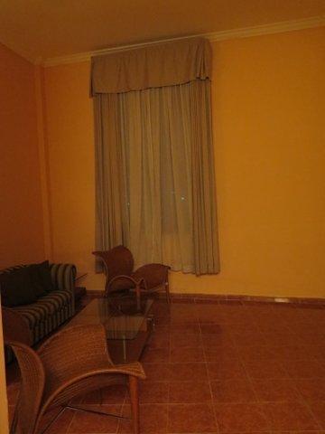 My fancy hotel room for a few hours in Havana