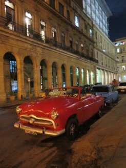 First night in Havana and what beauties are these!