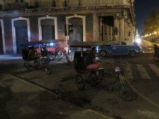 Habana bike taxis