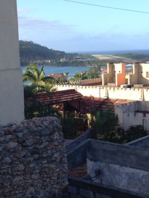 From hotel towards Baracoa airport