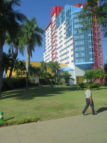 Our hotel in Santiago de Cuba